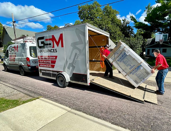 GSM delivering appliances